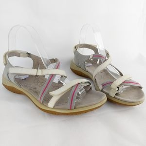 Ecco walking sandals ajustable straps size 10